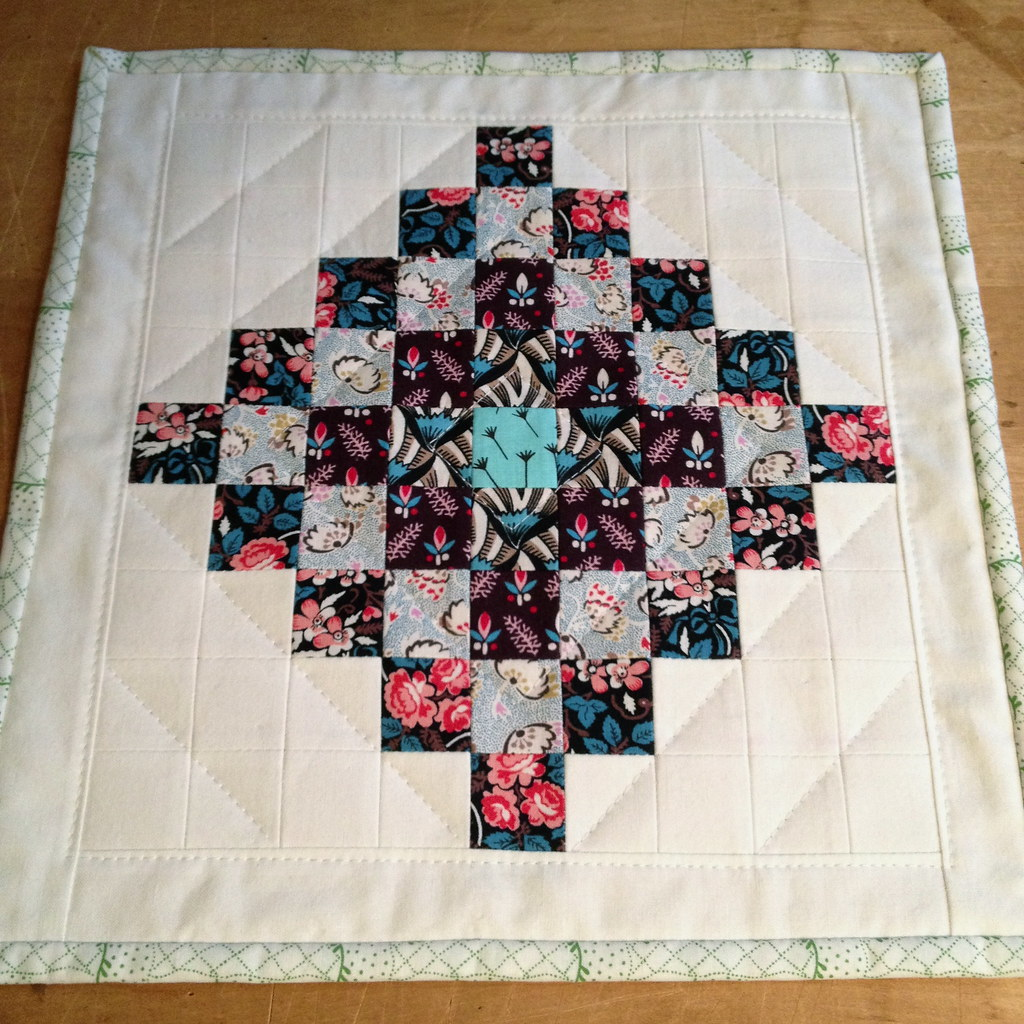 Mini-Quilt for Christmas Swap