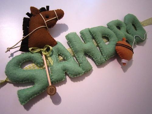 ♥♥♥ Sandro ... by sweetfelt \ ideias em feltro