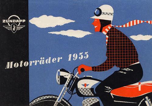 1955 Zundapp graphic by bullittmcqueen