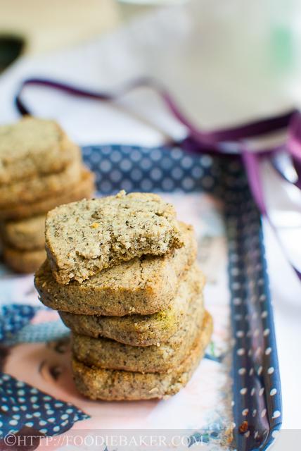 Black Sesame Cookies