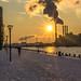 Urban sunset by Ghita Katz Olsen