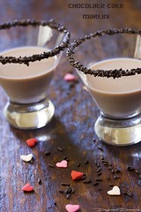 Chocolate Cake Martini