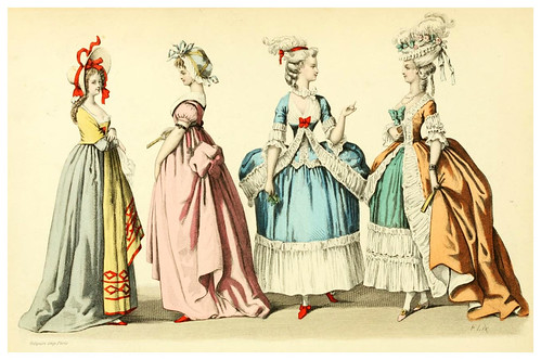 007- The history of fashion in France…1882-Augustin Challamel