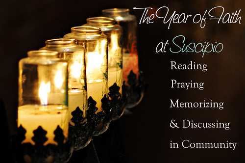 Year of Faith at Suscipio