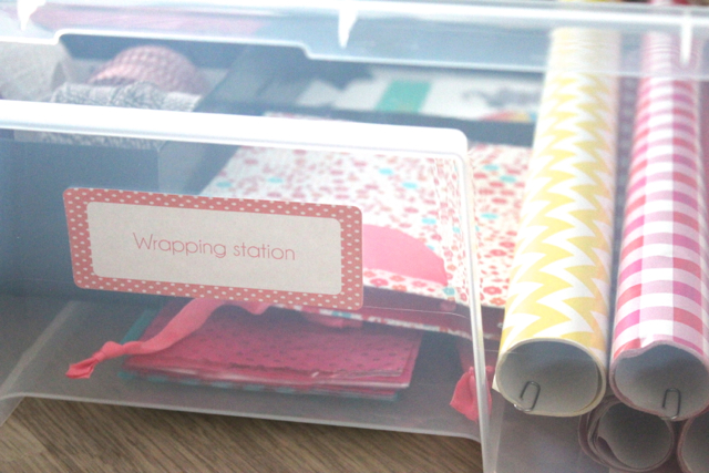 How to | Create a wrapping station | Style playground