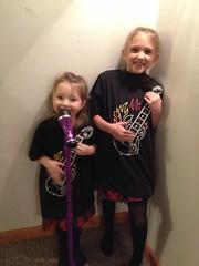 Girls Guitar shirts