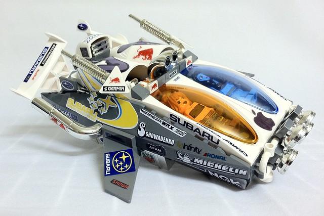 Team Subaru GARC Raceship