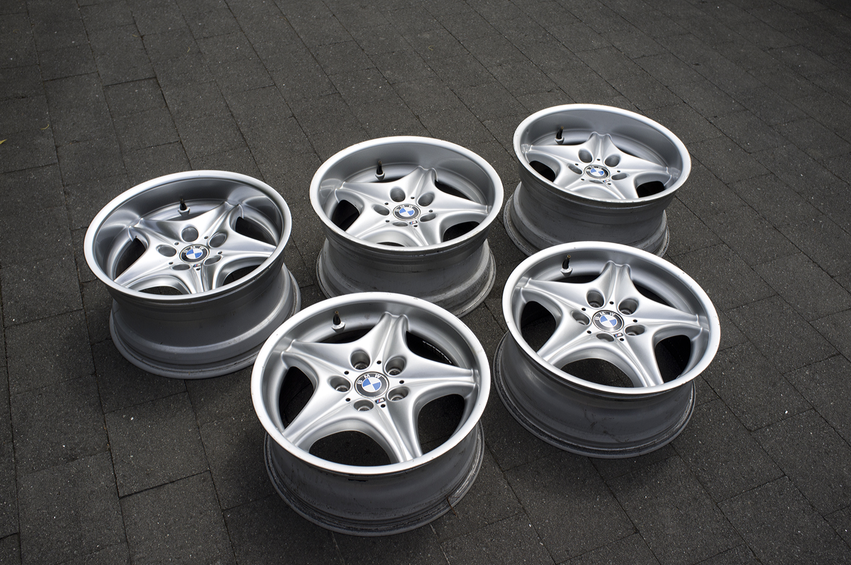 Bmw Style 40s Z3 M Coupe Wheels 17x7 5 Amp 17x9 New Zealand