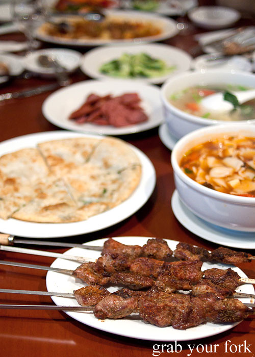 uighur food at poplar central asian cuisine crows nest