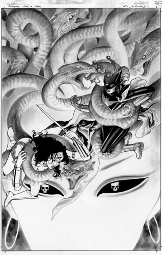 Batwoman16-cover-black and white