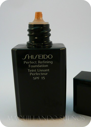 bases a examen perfect refining foundation de shiseido. Black Bedroom Furniture Sets. Home Design Ideas