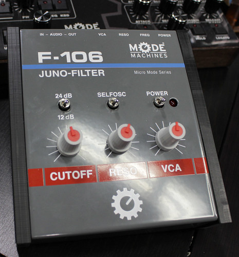BoardMode Machines Juno-106 Filter replicas by Switched On Austin