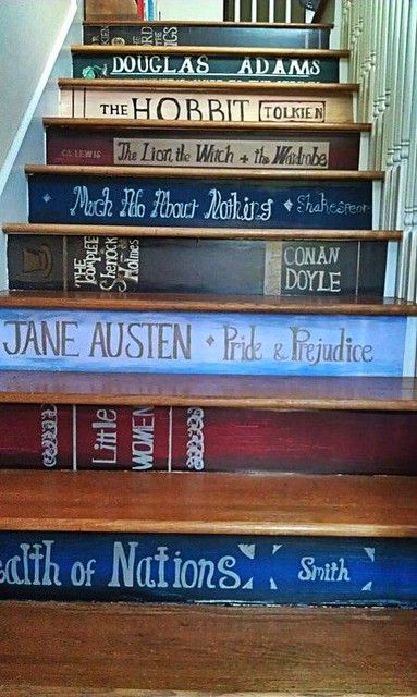 Going bookstairs