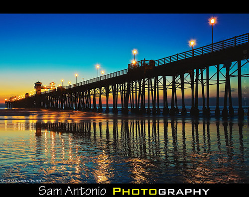 What famous 1980s movie was filmed nearby the Oceanside Pier? by Sam Antonio Photography