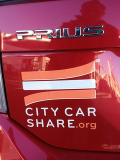 City Car Share Prius