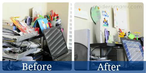 Reducing The Clutter For 2013 Reorganizing My Home Office