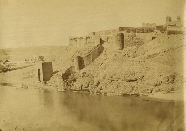 Baño de la Cava hacia 1857. Fotografía de Louis Léon Masson