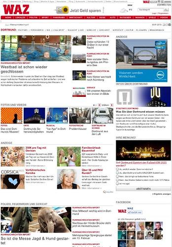 Ruhr Nachrichten Dortmund: Import bei DerWesten.de