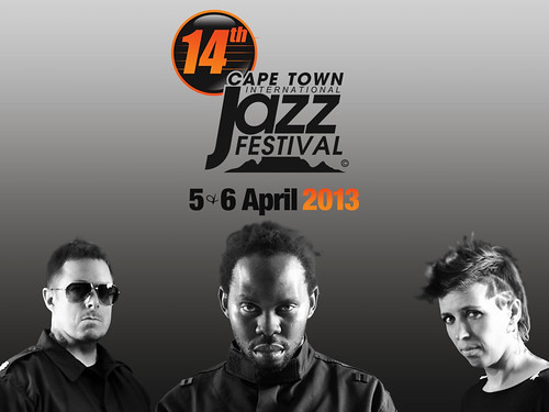 Ben Sharpa & Pure Solid at the 2013 Cape Town International Jazz Festival