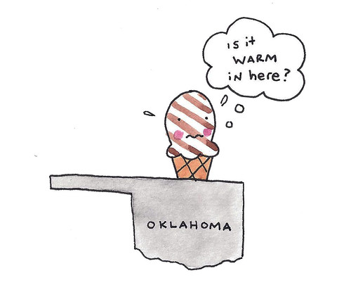 Ice cream in oklahoma