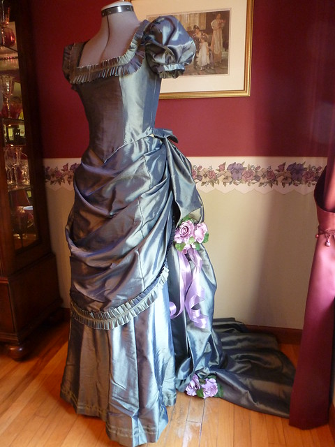 taffeta bustle dress 20