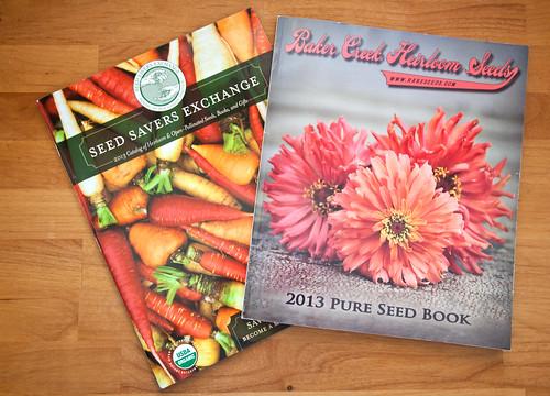 Organic Gardening Seed Catalogs