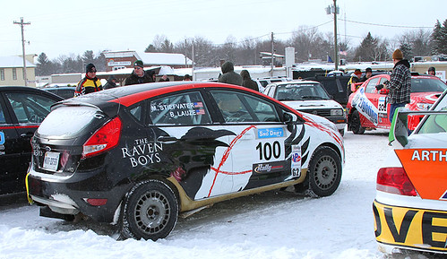 My rally car at Sno*Drift rally 2013.