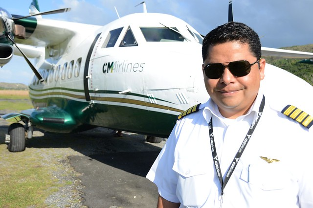 Capt Juan Franco of CM Airlines