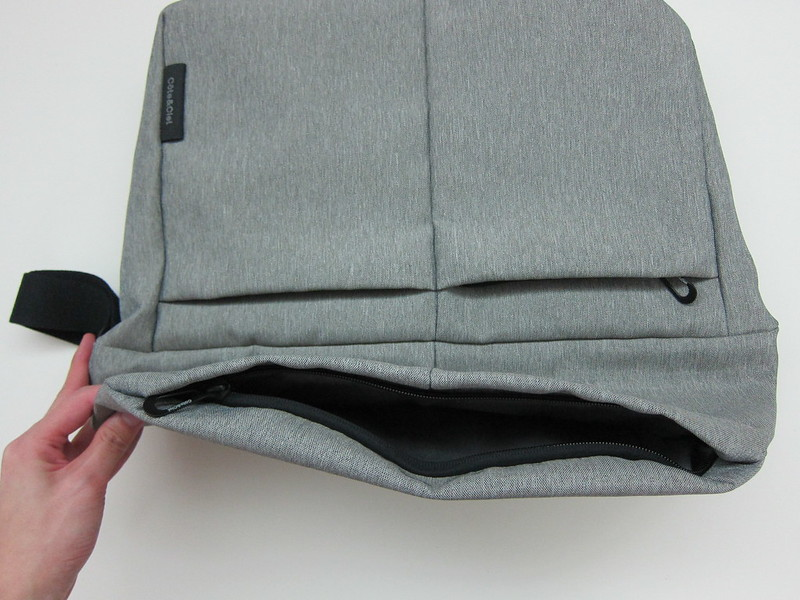 Côte&Ciel - Spree Messenger Bag (Grey Melange) - Opened