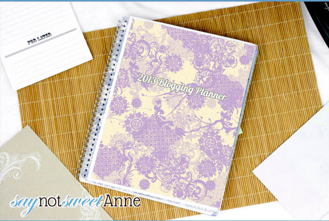 Sweet Anne Designs Planner
