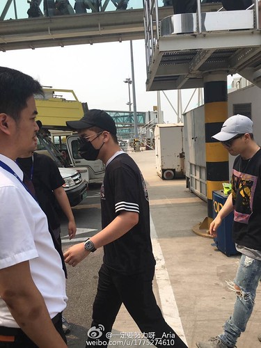 Big Bang - Tianjin Airport - 05jun2016 - 一定要努力呀__Aria - 02