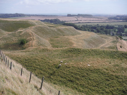 Maiden Castle, Southerly Ramparts