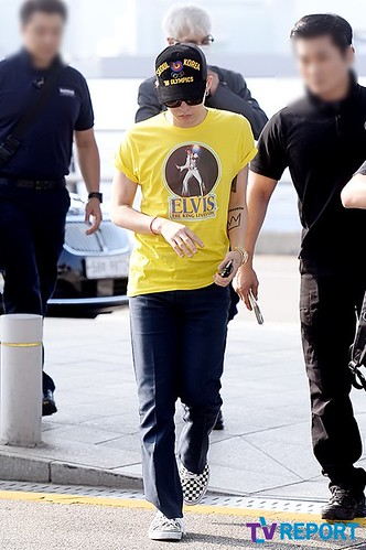 Big Bang - Incheon Airport - 07aug2015 - TV Report - 07