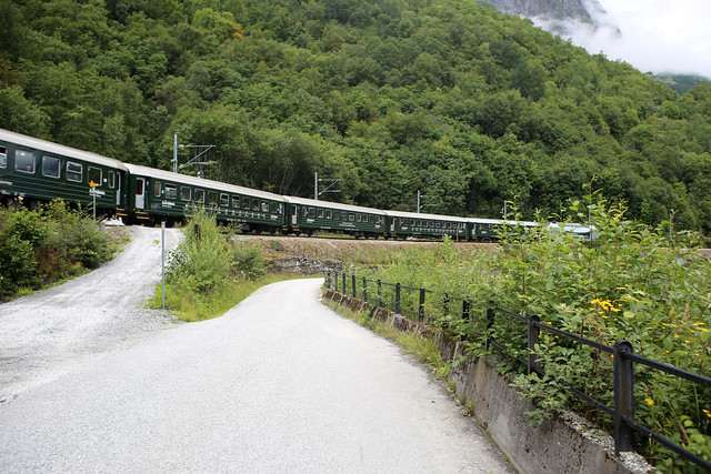 The Flam Railway at Berekvam