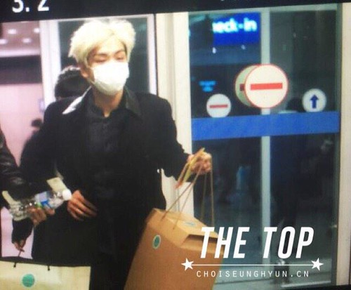 TOP - Incheon Airport - 22jan2015 - The TOP - 02