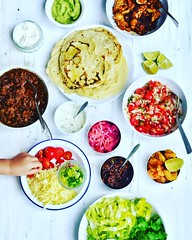 It's Taco Tuesday! Recipes to fill the table over on www.themodernhusband.com #tacos #corntortillas #shreddedpork