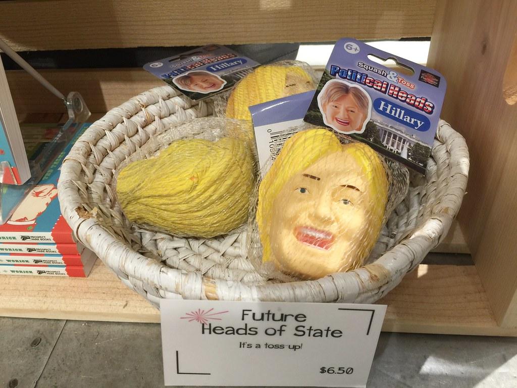 Hillary head