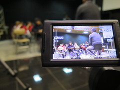 Escolares visitan Escuela de Periodismo
