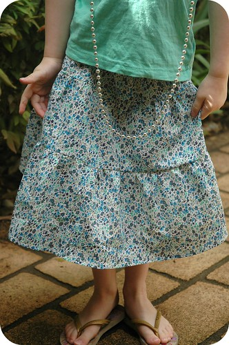 Tiered Skirt - kcwc Oct 12