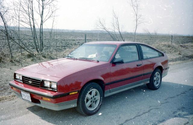 1986 Chevrolet USA Cavalier 1gen Coupe full range specs