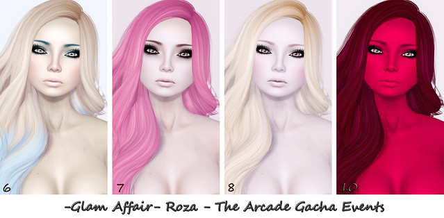 -Glam Affair-  Roza - The Arcade Gacha Events 5-8 & 10