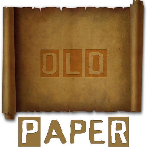 Old Ornamental Paper by TanyDi
