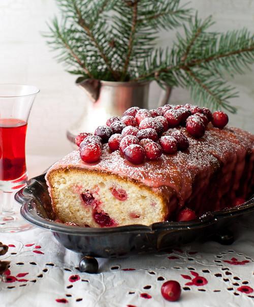 Lemon Cranbbery Cake 5