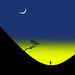 Moonrise. by yamstar1(Internet problems).
