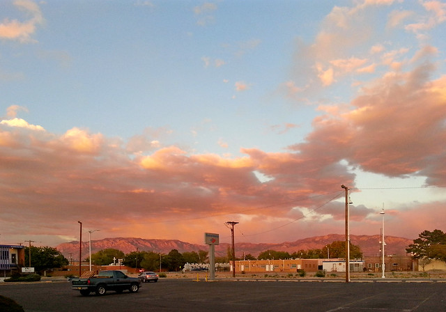 Albuquerque sunset on October 12, 2012 sRGB