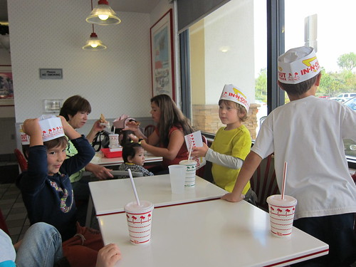 In n Out hats