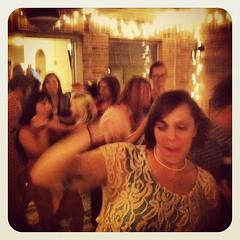 dancing bride.  :)  @ckgriffin #auschan