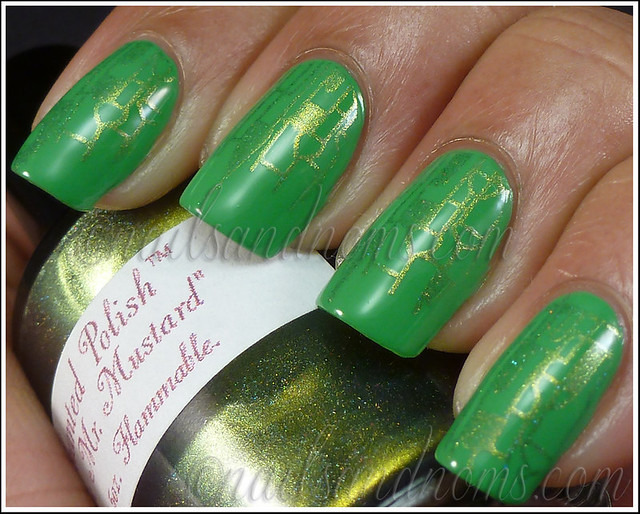31DC2012 Day 4 Green Nails - 6