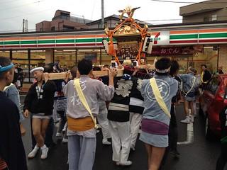 2012/10/14 蕨市郷町会 祭り 神輿