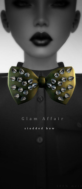 Glam Affair - Studded Bow